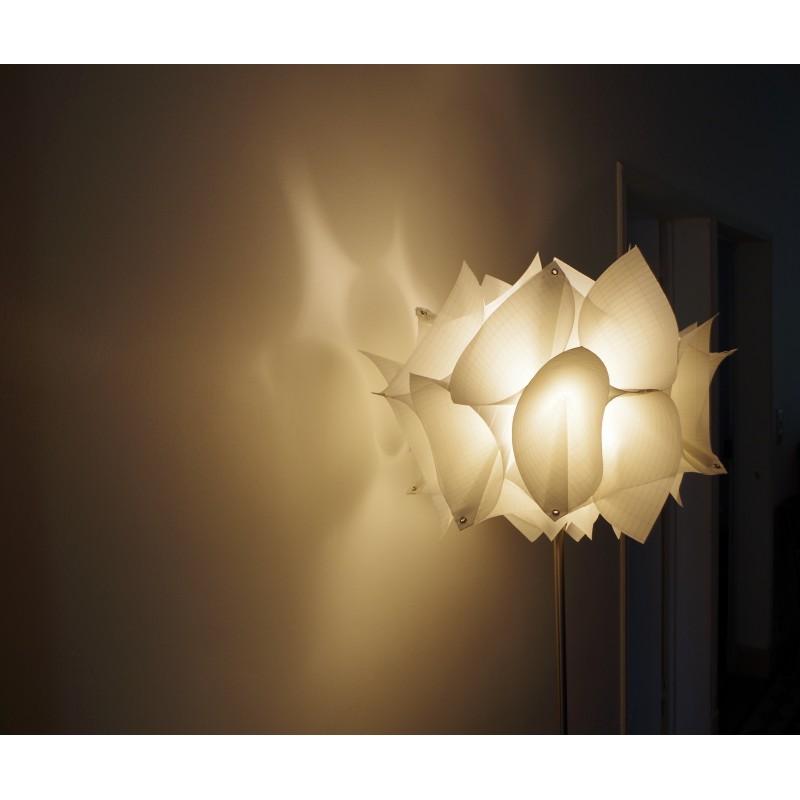 Lampadaire Design Hortensia En Voile De Bateau Voilensac