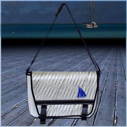 Besace 2015 en voile de bateau logo bleu
