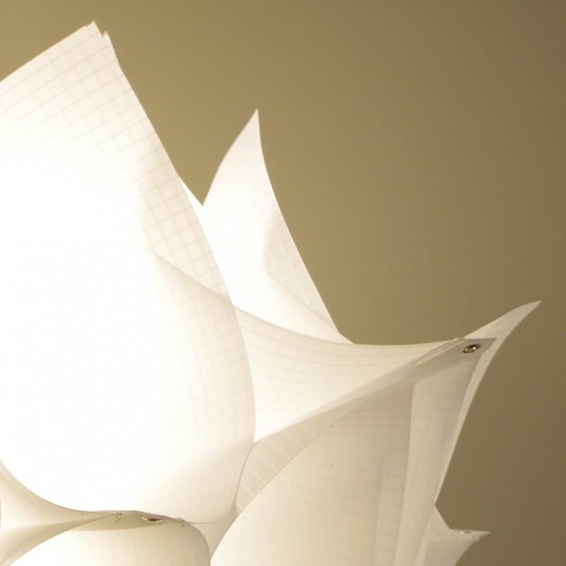 Suspension L Ane Design Hortensia En Tissu Voile De Bateau