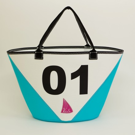 Mediterranean shopping bag
