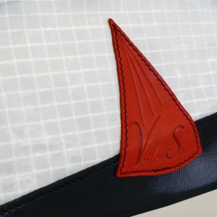 Trousse de toilette s en voile de bateau et cuir