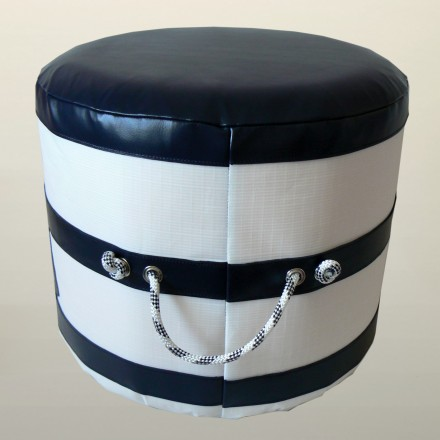 POUFFE NAVY SAILOR