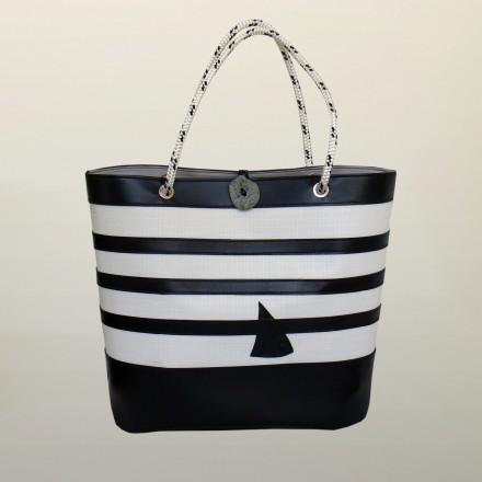 BIG SHOPPING BAG NAVY BLUE