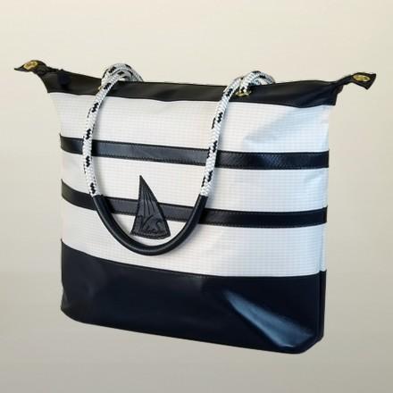 Large handbag Cristel sailing boat