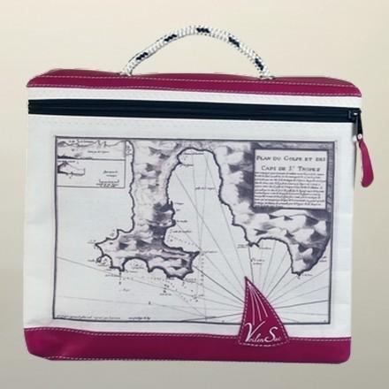 Briefcase sailing boat