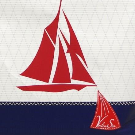Cabas Ketty zippé Classic Yacht