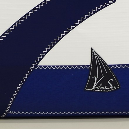 Cabas en voile de bateau Ketty Marine 7