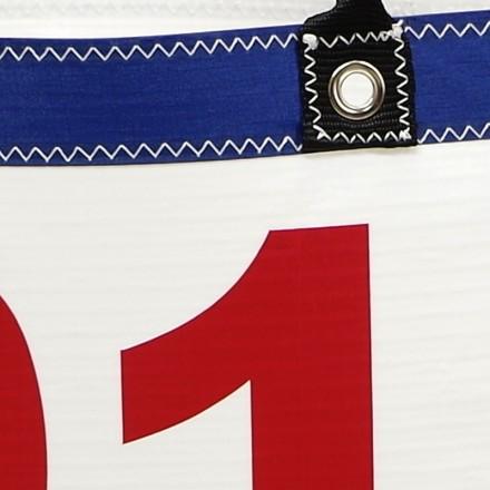 sac en voile de bateau Ketty Marine 01 rouge