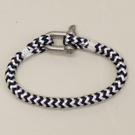 Bracelet en cordage marin Manille inox