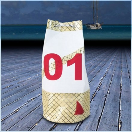 sac marin en voile de bateau 25X50